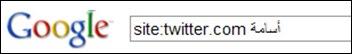 طريقة استخدام الأمر site: