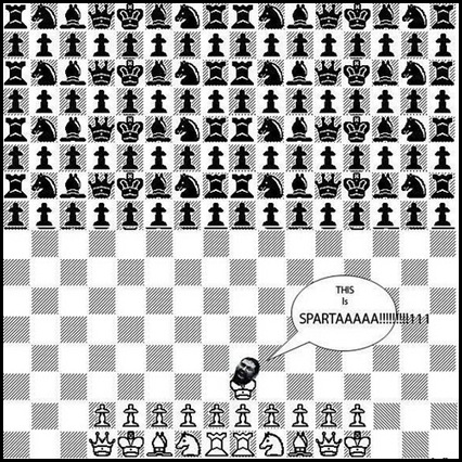 This is sparta chess