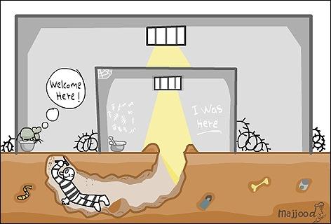 Prison Again | by majjood