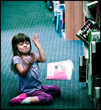 Flying books of the Library -by David Sommars @Flickr
