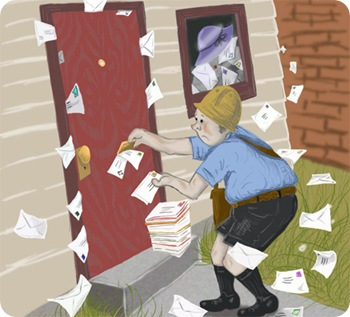 Irresponsible Mailman by ~KMNOP @ DeviantArt